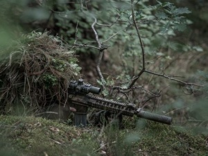 [FOTO] Ich umundurowanie i wyposażenie.... Niepokojący komunikat Straży Granicznej ws. nieproszonych gości na granicy polsko-białoruskiej