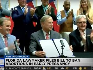 """Floryda wprowadza zakaz aborcji. Prawo oparte na """"wzorcu teksańskim"""""""