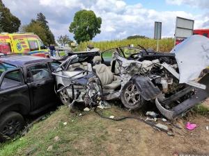 Mazowieckie: Makabryczny wypadek niedaleko Przasnysza. Nie żyje34-latek