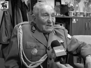 """Nie żyje żołnierz niezłomny Józef Rusak ps. """"Bylina"""". Miał 101 lat"""