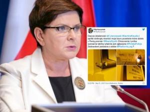 """""""Owoce działalności Sterczewskiego i Jachiry"""". Zaatakowano biuro Szydło i Kaczyńskiego"""