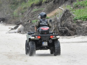 Nowy raport SG: Odnotowano kilkaset prób nielegalnego przekroczenia granicy