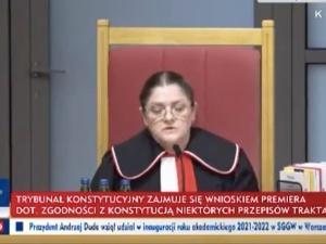 """""""OrzeczeniaTSUEnie są źródłem prawa"""". Gorąco na posiedzeniu TK ws. wyższości prawa krajowego nad unijnym [WIDEO]"""
