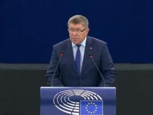 Nie słuchano nas, posłuchano Niemców. Mocne wystąpienie europosła PiS w PE