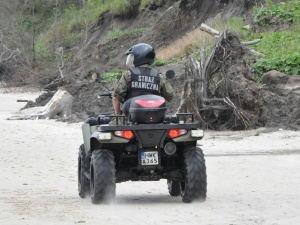 Raport SG: Rekordowa liczba prób nielegalnego przekroczenia granicy