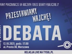 Rafał Woś, Jan Śpiewak, Mateusz Szymański - już jutro debata nt. rynku pracy w Polsce
