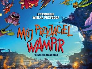 Przyjazne straszki na plakacie animacji MÓJ PRZYJACIEL WAMPIR (29 października w kinach)