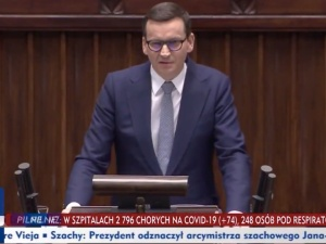 """Premier nie przebierał w słowach! """"To są wielkie kłamstwa Tuska! To wasza chora wyobraźnia to wymyśliła"""" [WIDEO]"""