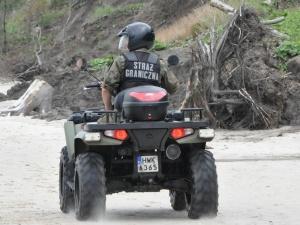 SG raportuje o kolejnych próbach nielegalnego przekroczenia granicy