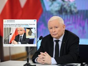 """Onet: """"Kaczyński miał zegarek do góry nogami"""". Ostra odpowiedź internautów"""