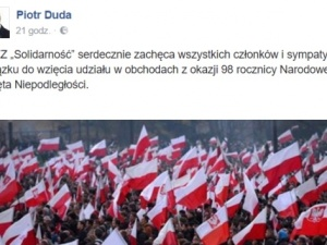 Przewodniczący Solidarności Piotr Duda został brutalnie zaatakowany za zaproszenie do świętowania 11.11