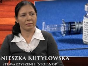 """Agnieszka Kutyłowska STOP NOP [Nasz wywiad video]: Nie jesteśmy """"antyszczepionkowcami"""""""
