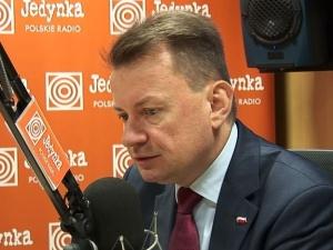 Mariusz Błaszczak: Obywatele RP to taka bojówka totalnej opozycji. Przychodzą z negatywnym przesłaniem