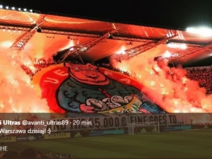 """Dzisiejsza oprawa kibiców Legii """"krytyczna"""" wobec kary UEFA"""