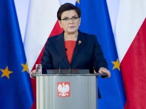 """Beata Szydło: Europa musi wspólnie stawić czoła zagrożeniom, mówiąc stanowcze """"NIE"""" terrorystom"""