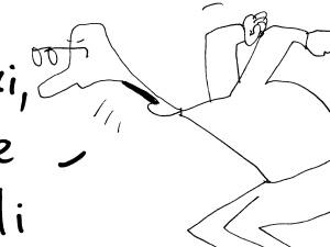 """[Kliknij aby zobaczyć całość] Nowy rysunek Krysztopy: """"Macron nie chciał..."""""""