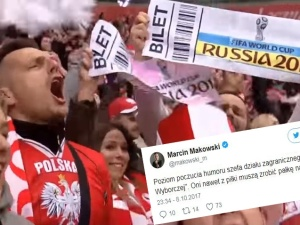 Komentarze po awansie Polski na Mistrzostwa Świata w Rosji. Nie zabrakło polityki