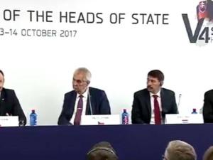 """Prezydent na spotkaniu V4: """"Nie możemy patrzeć na Unię jak na zamknięty klub"""""""