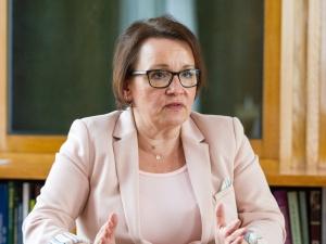 Minister Zalewska: Protest nauczycieli jest polityczny. KOD jest partnerem dla ZNP