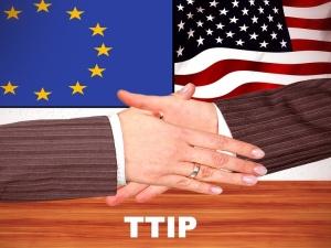 Ścigaj: Umowa TTIP spotyka się z protestami na całym świecie, tylko nie u nas - mieliśmy tematy zastępcze