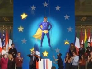 [video] Emmanuel Macron jako Kapitan Europa, czyli jak Francuzi kpią z europejskiej misji prezydenta
