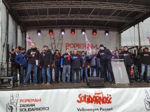"""Związkowcy z Volkswagen Poznań: """"Naszym celem nie jest strajk, a zawarcie porozumienia"""""""