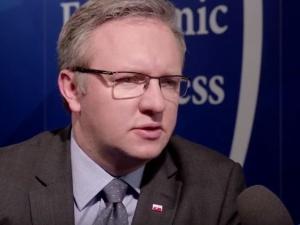 Minister Szczerski dementuje informacje Ukrainy o odbudowie pomników UPA