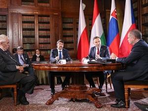 Wystąpienie inaugurujące I sesję plenarną Szczytu prezydentów państw Grupy Wyszehradzkiej
