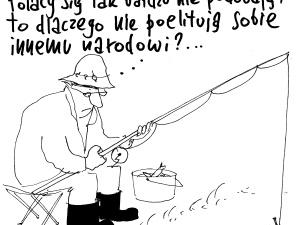 """""""Skoro Polacy im się nie podobają..."""" Nowy rysunek Krysztopy. Oceń, skomentuj, hejtuj bez litości"""