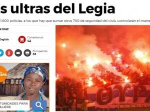 Dziś historyczny mecz Legia-Real. Panika w Madrycie przed przyjazdem Legii! Media ostrzegają kibiców