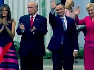 Para Prezydencka przekazała na WOŚP kostium, który Pierwsza Dama założyła podczas wizyty Donalda Trumpa