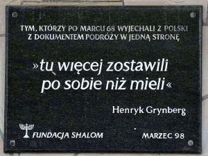 """Jerzy Bukowski: Jak przeżyjemy 50. rocznicę Marca """"68?"""