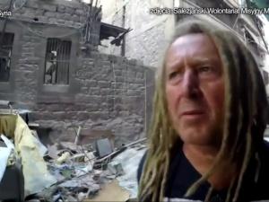 Polski muzyk Dariusz Malejonek wolontariuszem w syryjskim mieście Aleppo