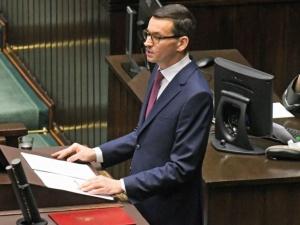 Beata Mazurek [PiS]: Premier Morawiecki udzielił wywiadu Die Welt, aG. Wyborcza przedrukowuje jak własny