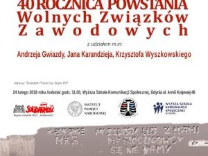 """#SpotkaniePrawych """"40. Rocznica powstania WZZ"""". Gwiazda, Wyszkowski, Kołodziej, Śniadek..."""