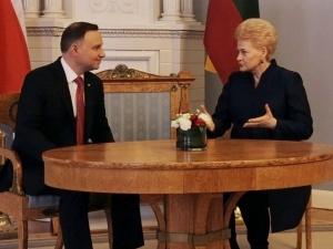 [Tysol z Wilna] FOTO: Spotkanie prezydentów - na agendzie polska mniejszość, bezpieczeństwo, Trójmorze