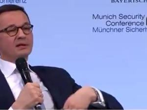[video] Premier w Monachium: Nie możemy się zgodzić na to, że będzie pomieszanie ofiar ze zbrodniarzami