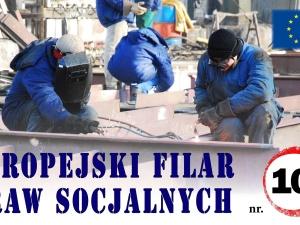 Krótki przewodnik po Europejskim filarze praw socjalnych, punkt 10: Zdrowe i bezpieczne środowisko pracy