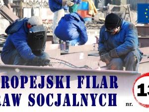 Krótki przewodnik po Europejskim filarze praw socjalnych, punkt 13: Zasiłki dla bezrobotnych