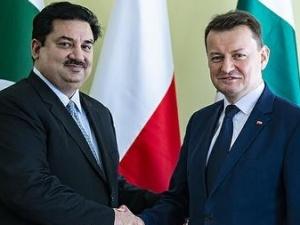 Mariusz Błaszczak gościł ministra Islamskiej Republiki Pakistanu
