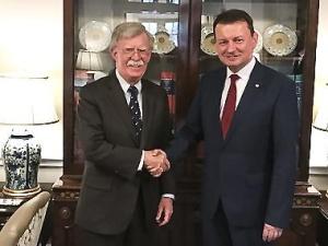 Minister Błaszczak: Jestem podbudowany tym, że relacje polsko-amerykańskie są tak dobre
