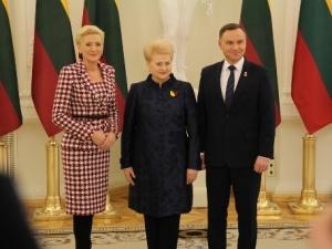 Prezydenci Polski i Litwy chcą stawać w obronie ideałów Konstytucji 3 maja