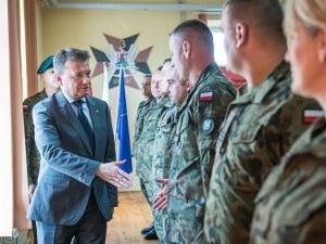Minister Błaszczak: Priorytetem jest to, żeby Wojsko Polskie było liczniejsze