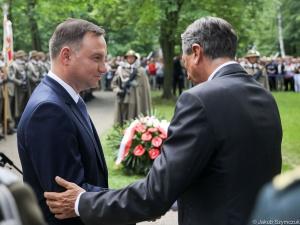 Prezydent: Wolność Polski i Słowenii narodziła się z krwi naszych żołnierzy