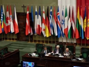 Trzeci dzień obrad ZP NATO. Min. Błaszczak: Rosja udowodniła, że gotowa jest siłą zmieniać granice