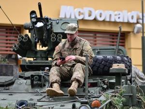 W Brandenburgii protestują przeciwko przejazdowi wojsk amerykańskich do Polski