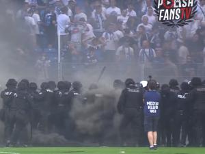 Skutki meczu Lech – Legia: 29 zatrzymanych, trzy areszty, straty na 30 tys.