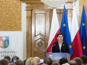 Premier Szydło: Ściana wschodnia tą częścią naszego kraju, która musi mieć priorytet