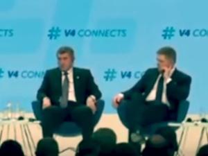 Premier Morawiecki spotkał się w Budapeszcie z szefami państw Grupy Wyszehradzkiej