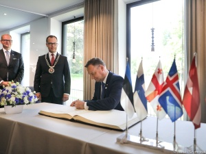 Para prezydencka z wizytą w Estonii